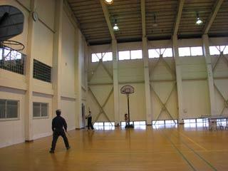 マルサンスポーツセンター体育館内